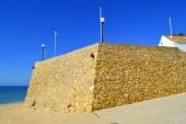 Armacao De Pera Fort on the Algarve — Stock Photo