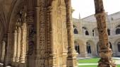 Monastery of jeronimos, lisbon — Stock Photo