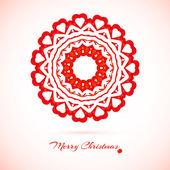 Snowflake, flower, folk style. — Vettoriale Stock