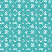 узор из снежинок — Cтоковый вектор