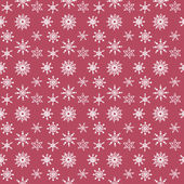 Pattern of snowflakes — Stock Vector