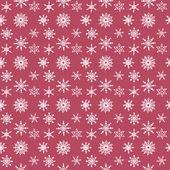 Motif de flocons de neige — Vecteur