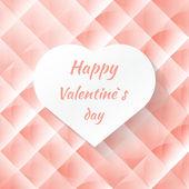 Valentinstag-banner — Stockvektor