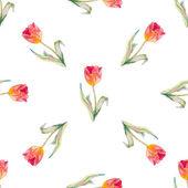 Flores de acuarela. — Vector de stock