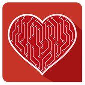Heart PCB — Διανυσματικό Αρχείο