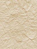 Zerknittertes papier textur — Stockfoto