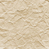 Crumpled Paper Texture (Seamless) — Stock Photo