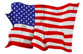 Flag series: United States — Stock Photo