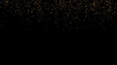 Glitter and Stars Decoration Background — Stock Video