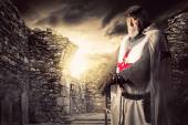Knight Templar — Stock Photo