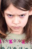 Angry girl — Stock Photo