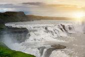 Gullfoss waterfalls — Stock Photo