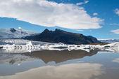 Fjallsarlon lagoon — Stock Photo