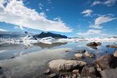 Fjallsarlon Iceland — Stock fotografie