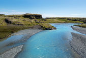 River in wild Iceland — Foto Stock