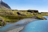 River in wild Iceland — Stockfoto