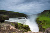Gullfoss waterfalls — Stock Photo