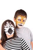 Face-paint — Stock Photo