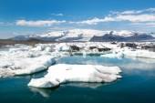 Glaciärlagunen lagunen på Island — Stockfoto
