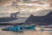 Jokulsarlon lagoon in Iceland — Стоковое фото