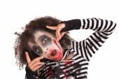 Genç kız zombi, Cadılar Bayramı — Stok fotoğraf