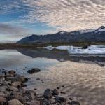 Reflections in Fjallsarlon lagoon — Stock Photo #67956253
