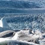 Glacier in Fjallsarlon lagoon — Stock Photo #67956435