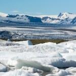 Glacier in Fjallsarlon lagoon — Stock Photo #67956531