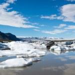 Glacier in Fjallsarlon lagoon — Stock Photo #67956605