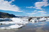 Gletscher in Fjallsarlon Lagune — Stockfoto