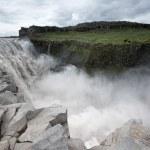 Powerful Dettifoss waterfalls — Stock Photo #71498039