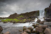 Oxarafoss  Waterfalls in Iceland — Stock Photo