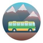 Bus Detailed Illustration — Stock Vector #54122309