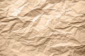 Light Brown Texture of Crumpled Paper — Stock Vector