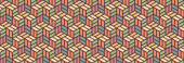 彩色几何图案 — 图库矢量图片