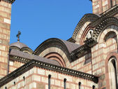 Orthodox church St. Marco in the center of the city Belgrade, Serbia — Stock Photo