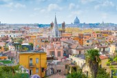 Panoramic view of Rome, Italy. — Stock Photo