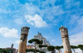 National Monument to Victor Emmanue 2, Rome. — Stock Photo