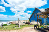 Punta del Diablo, popular tourist place in Uruguay — Stock Photo