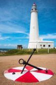 La Paloma lighthouse Uruguay — Stock Photo