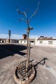 Ghost Town Humberstone in Atacama, Chile — Stock Photo