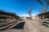 Ghost Town Humberstone in Atacama, Chile — Stockfoto