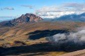 Sinchulagua Volcano,  Andean Highlands of Ecuador, South America — Stock Photo