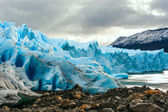 Early morning on the glacier Perito Moreno, Argentina — Stock Photo