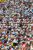 Crowd watch bullfighting  — Stock Photo