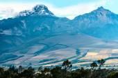 Ilinizas volcanoes, Andes. Ecuador — Stock Photo