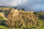 Ingapirca, largest known Inca ruins in Ecuador — Stockfoto