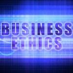 Business Ethics background — Stock Photo #52768189
