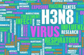 H3N8 background — Stock Photo