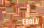 Ebola background — Stock Photo